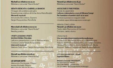 """""""Settimana della Poesia"""" dal 27 al 30 ottobre a San Mariano"""