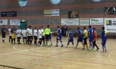 Calcio a 5: la Polisportiva San Mariano pareggia a Gubbio 3-3 in una partita tesissima