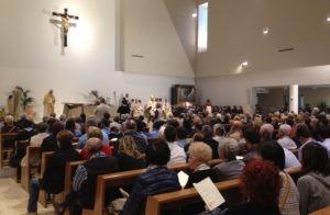 Chiesa, celebrato il rito della consacrazione-dedicazione della parrocchia Santa Maria della Speranza 1