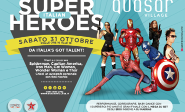 Halloween al Quasar: niente mostri ma tanti Super Heroes