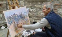 """Mantignana """"en plein air"""", l'estemporanea nel borgo è stata un successo"""