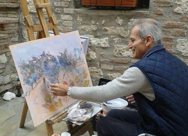 arte en plein air estemporanea mantignana pittura mantignana