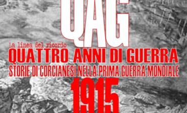 """Arriva la mostra QAG: """"Quattro anni di guerra - Storie di corcianesi nella prima guerra mondiale"""""""