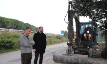 Fibra ottica: partiti i lavori per le aree commerciali, industriali e artigianali di Corciano e Magione
