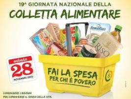 Colletta alimentare, successo anche a Corciano