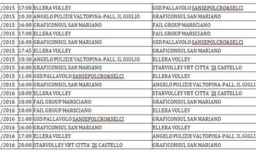 """San Mariano ed Ellera Volley partecipano alla """"Divisione Giovanile Femminile"""""""