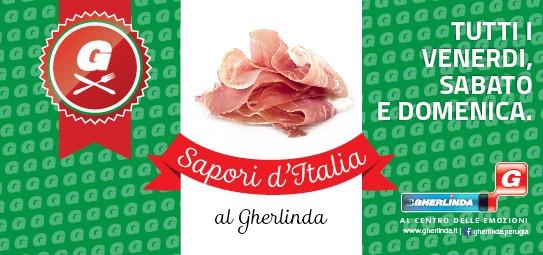"""Ogni venerdì, sabato e domenica """"Sapori d'Italia al Gherlinda"""""""