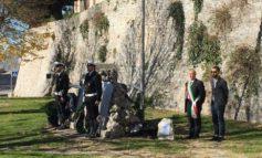Festa dell'Unità Nazionale, deposta una corona sul monumento ai caduti restaurato dall'associazione Corciano Castello di vino