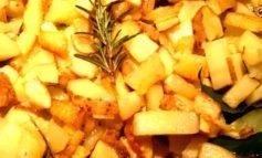 Patate croccanti con la buccia al forno