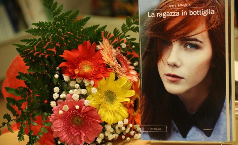 best sellers La ragazza in bottiglia libro pesentazione sara allegrini trilogia corciano-centro ellera-chiugiana eventiecultura