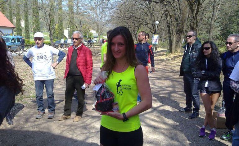 Tiziana Nandesi in testa alla classifica provvisoria under 40 del Gran Prix Fidal Umbria