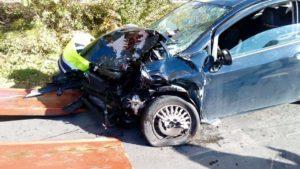 feriti frontale incidente strada cronaca san-mariano