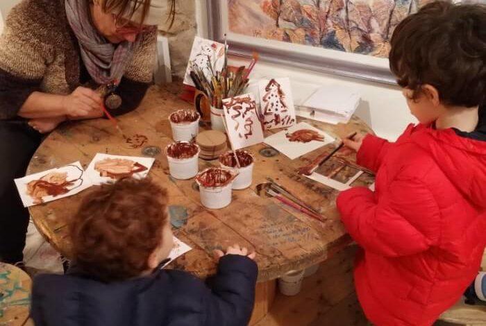 Dolce Borgo: ultimo giorno, grande divertimento con gli acquarelli al cioccolato
