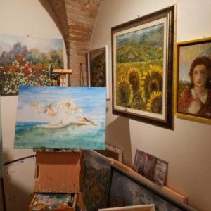 arte cioccolato doce borgo natale pittura presepe corciano-centro