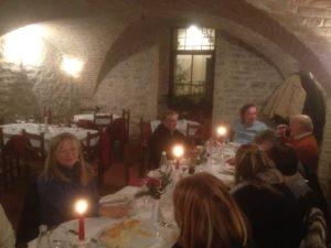 Gli Amici del Presepe di Corciano festeggiano il loro impegno insieme alla Signora Anna 3