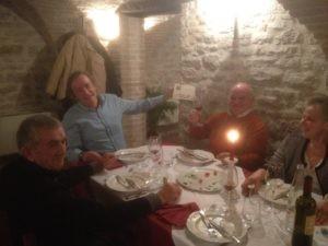 Gli Amici del Presepe di Corciano festeggiano il loro impegno insieme alla Signora Anna 2