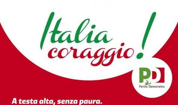 """""""Italia, coraggio"""", i banchetti del PD domenica al Girasole e Mantignana"""