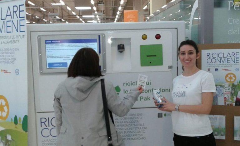 Tetra Pak: a Corciano riciclati già 13mila cartoni, l'iniziativa fino al 10 gennaio