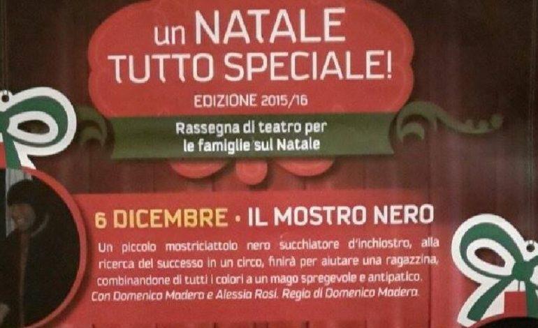 Arriva il Mostro Nero, al Teatro della Filarmonica lo spettacolo di Domenico Madera