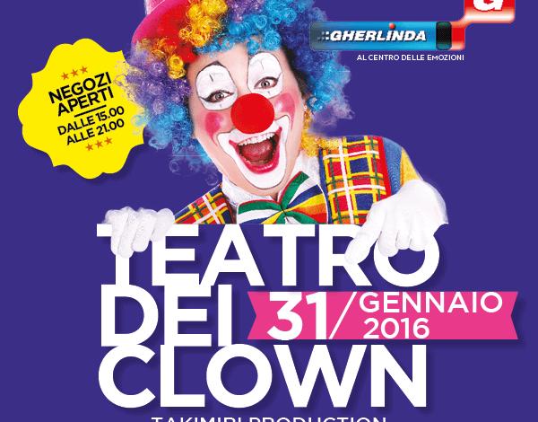 """Al Gherlinda arriva il circo con il """"Teatro dei clown"""""""