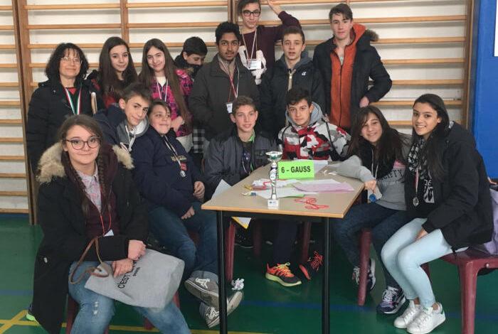 bonfigli galilei senza frontiere gara gauss leibniz matematica pitagora podio studenti corciano-centro glocal