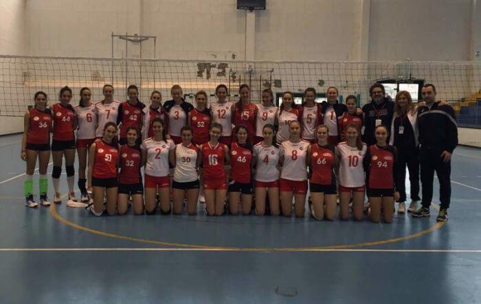 """Nel """"Marche International Volley Cup"""" buone le prove delle due under di San Mariano"""