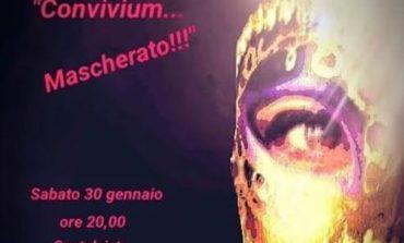 """Carnevale entra nel vivo con la serata """"Convivium... mascherato"""""""
