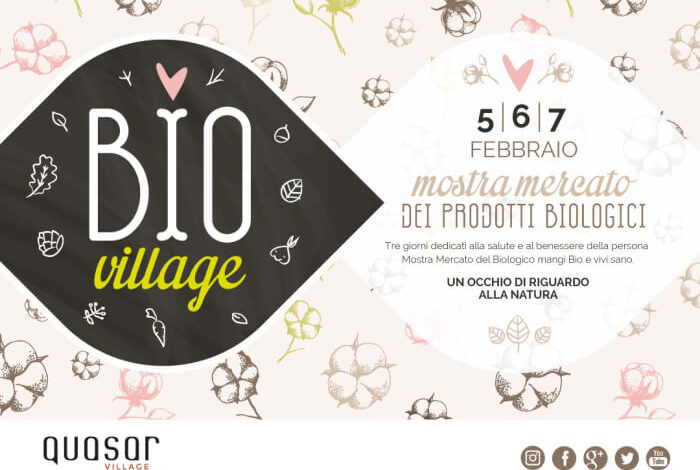 alimenti bio mostra mercato prodotti biologici quasar village ellera-chiugiana eventiecultura