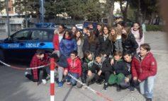 La Polizia Municipale fa scuola di educazione stradale alla Bonfigli
