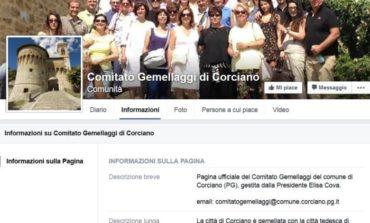 Il Comitato Gemellaggi di Corciano è sempre più social