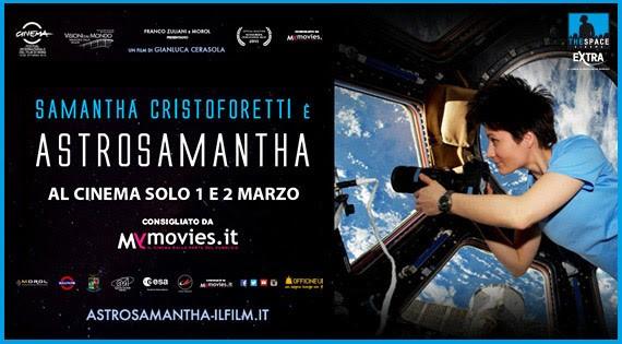 The Space cinema di Corciano: arriva Astrosamantha, la donna dei record nello spazio