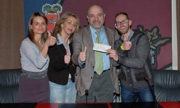 """Con il """"cesto di Natale Avanti tutta"""" donati 1.270 euro all'ospedale, tra i fornitori anche la Gastronomia Umbra"""