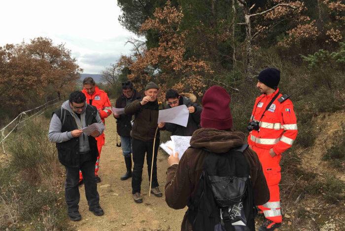 corso esercitazione ovus protezione civile topografia volontari corciano-centro glocal taverne