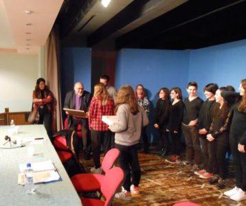 La testimonianza di Piero Terracina commuove gli alunni della Bonfigli 2
