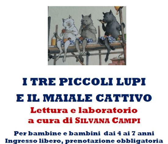 bambini biblioteca favole lettura lupi corciano-centro san-mariano