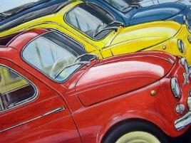 Raduno delle Fiat 500 a Mantignana: appuntamento il 25 aprile