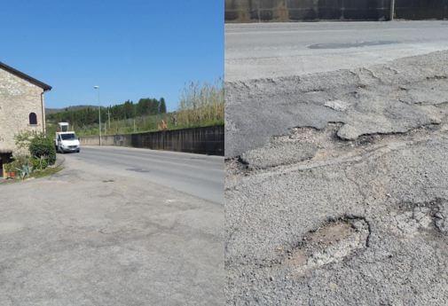 Degrado e pericolo sulle strade: i cittadini di Capocavallo attendono risposte