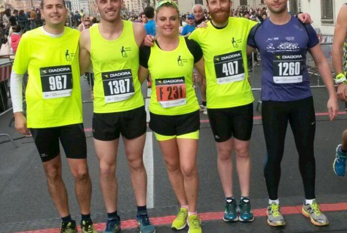 La Corciano che corre: bella prova degli atleti della Podistica alla mezza maratona di Firenze