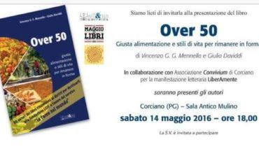 """Alla Sala Antico Mulino la presentazione del libro """"Over 50"""" di Mennella e Daviddi"""