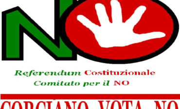 """Costituito a Corciano il Comitato """"Corciano vota no"""" al referendum costituzionale"""
