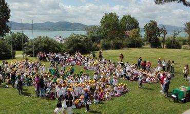 Progetti TSA, tanti ragazzi alla premiazione alla Polvese: coinvolti gli studenti di Corciano