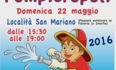 Diventa pompiere per un giorno, a San Mariano c'è Pompieropoli