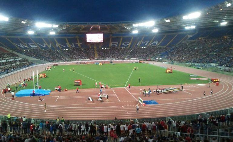 Eccezionale quarto posto per la squadra di Corciano al Golden Gala Pietro Mennea a Roma