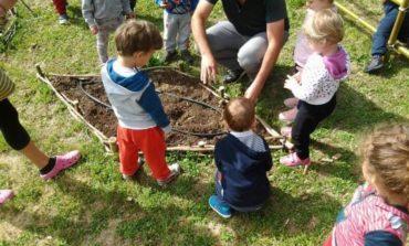 Un orto al nido: successo per il progetto educativo di Nuova Dimensione