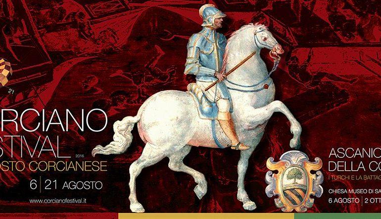 Sulle orme di Ascanio Della Corgna, pronta la 52esima edizione del Corciano Festival