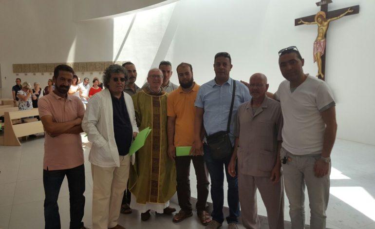 """""""Tutte le religioni vogliono la pace"""": a San Mariano musulmani e cattolici pregano insieme"""