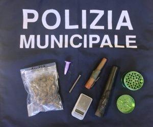 cocaina controlli droga giovani guida marijuana polizia locale corciano-centro cronaca ellera-chiugiana