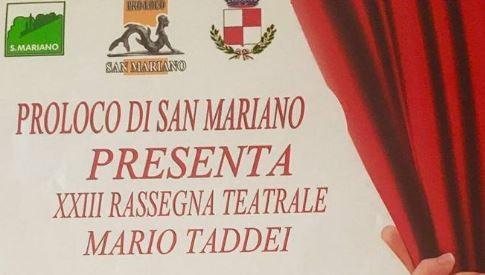 """Rassegna """"Mario Taddei"""", sabato l'appuntamento finale"""
