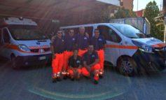 I sei volontari di Protezione Civile OVUS sono già ad Amatrice ad allestire il campo per la popolazione