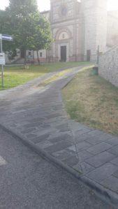 acqua caldo castello giardini san mariano segnalazione cronaca san-mariano